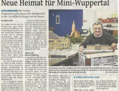 Neue Heimat für Mini-Wuppertal