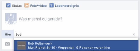 bob place facebook