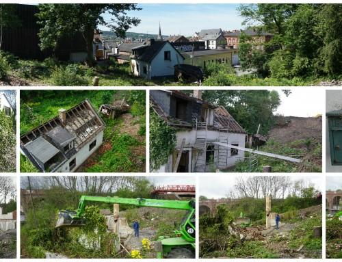 Mehr Platz in BOB´s Garten: Das Häuschen ist weg!