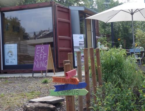 Erste Begegnungen & Informationen im BOB Container